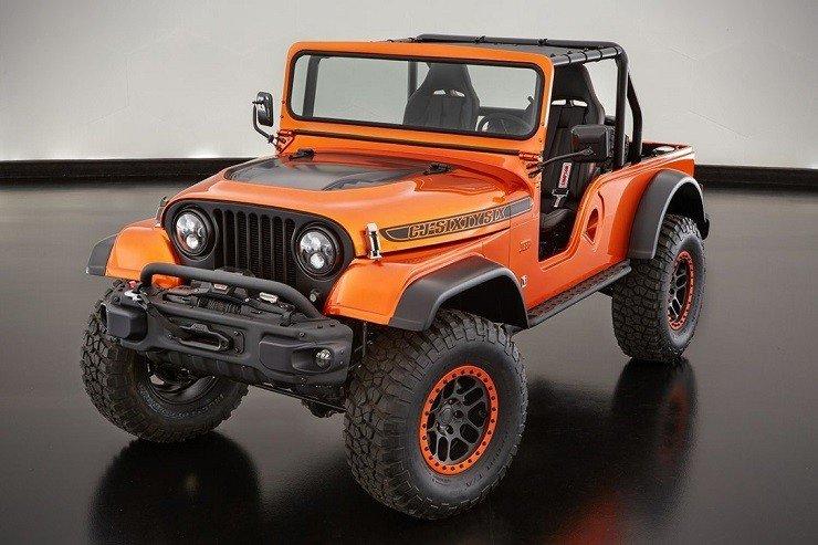 Jeep CJ66 Wrangler Concept