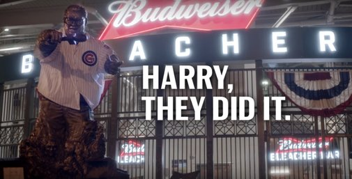 Harry Caray calls final World Series out in emotional video