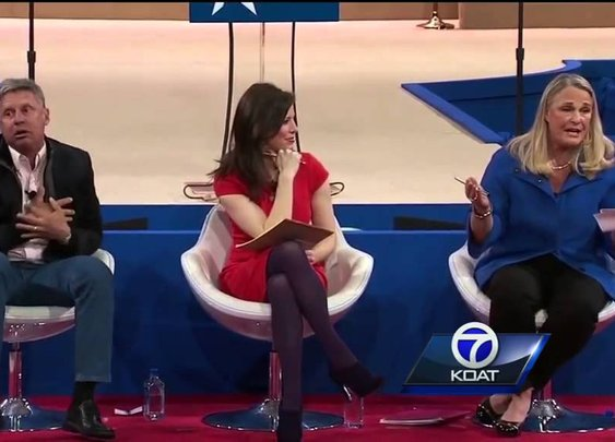 Former NM governor heart attack at pot debate
