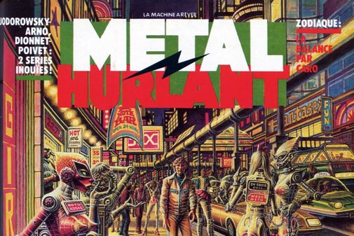 The French sci-fi comic that inspired Blade Runner and Akira | Dazed