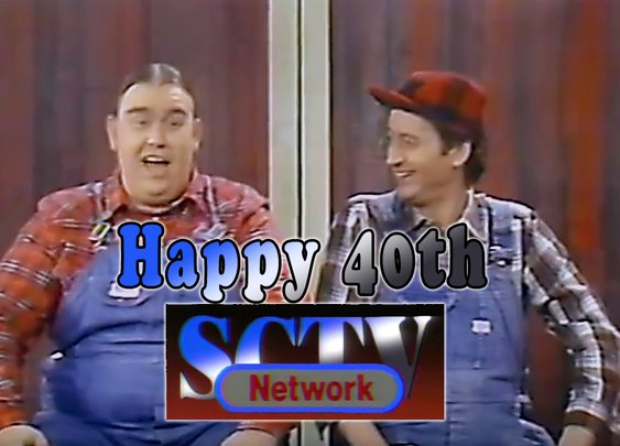 Second City Television is the coolest 40 year old in 2016.