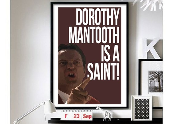 Anchorman – ('Wes Mantooth') Wall Art