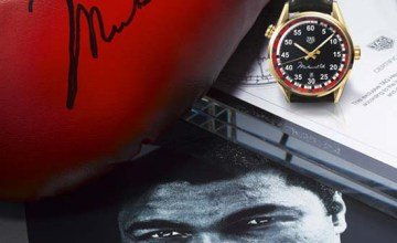 TAG Heuer Commemorates Muhammad Ali with Special Timepiece
