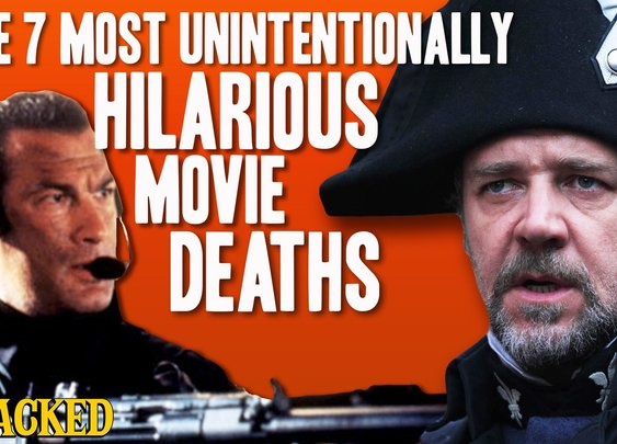 The 7 Most Unintentionally Hilarious Movie Deaths - Obsessive Pop Culture Disorder - YouTube