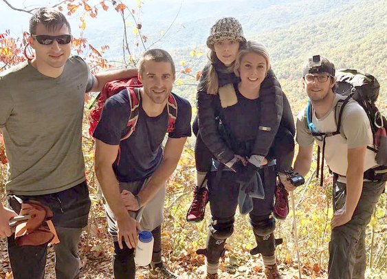 Unable To Hike, Woman Carried 79 Miles On Appalachian Trail