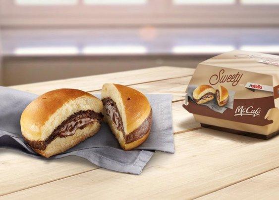 McDonalds Nutella Burger