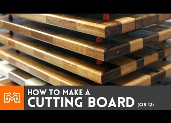 Making cutting boards