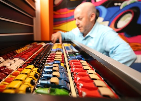 Bruce Pascal's Million Dollar Hot Wheels Collection
