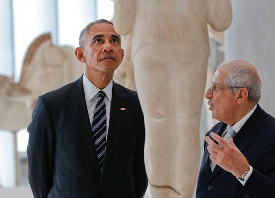 The Acropolis through Obama's eyes | News | ekathimerini.com