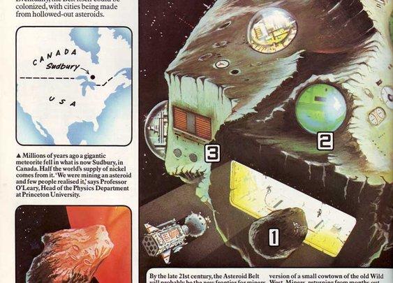 70s Sci-Fi Art: The Usborne Book of the Future