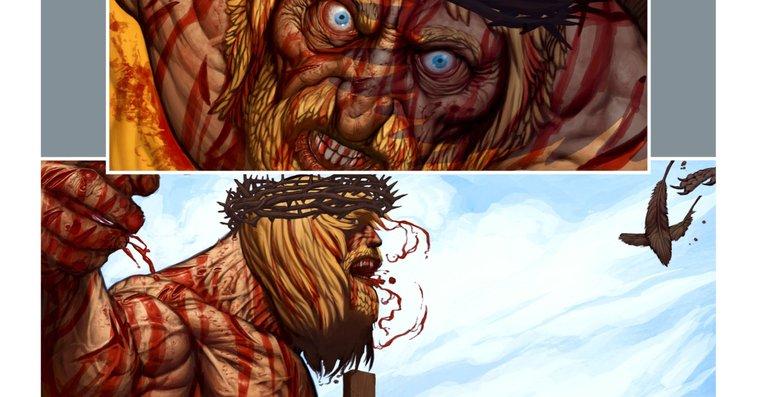 Grant Morrison Unveils Jesus-Conan Mash-up Comic -- Vulture