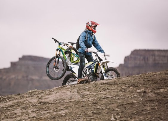 Moto + MTB = The Best Way To Mountain Bike In Utah