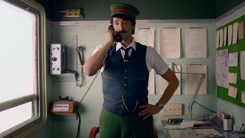 Come Together – a film directed by Wes Anderson starring Adrien Brody