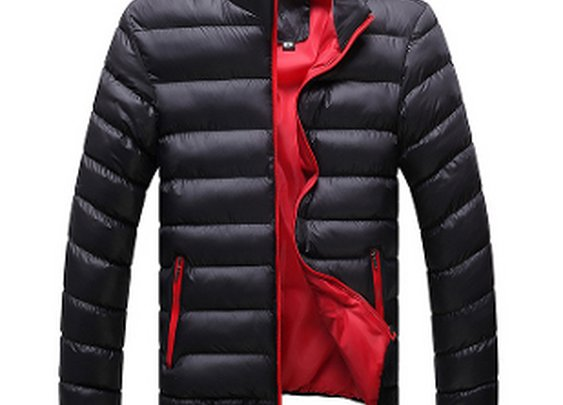 Men's Puffer Bomber Jacket