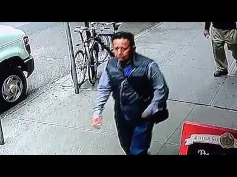Suspect in Midtown gold flake theft, 9/29/2016