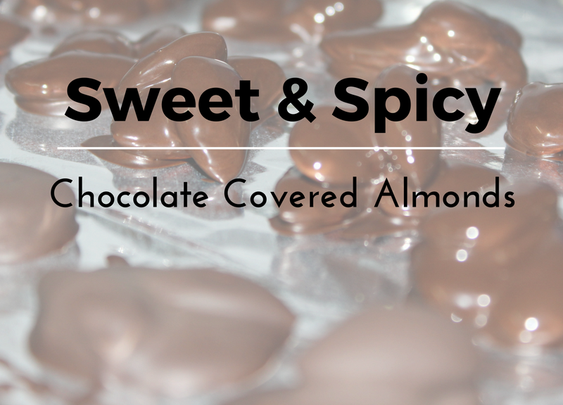 Sweet and Spicy Chocolate Covered Almonds Recipe