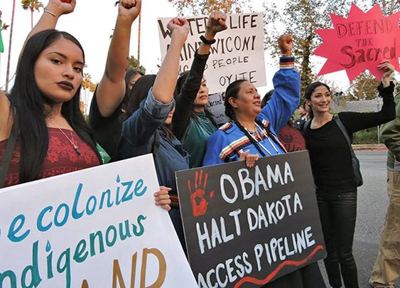 Obama's cowardly silence on Standing Rock