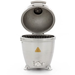 Introducing the world's 1st solid cast aluminum kamado