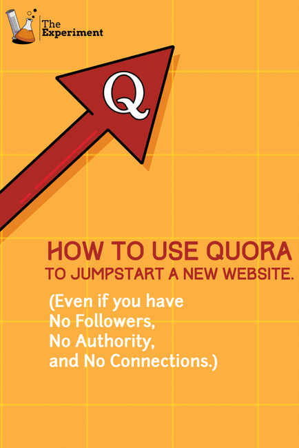 How to Get a torrent of Quora Traffic - The Experiment