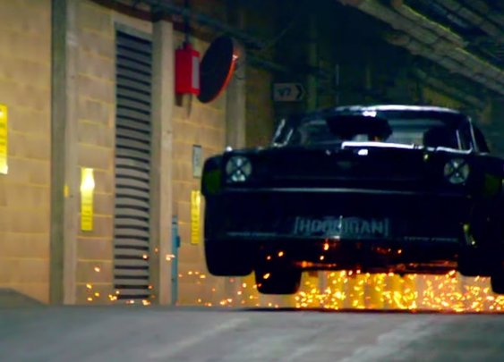 Ken Block Drifts London – EXTENDED Director's Cut - Top Gear