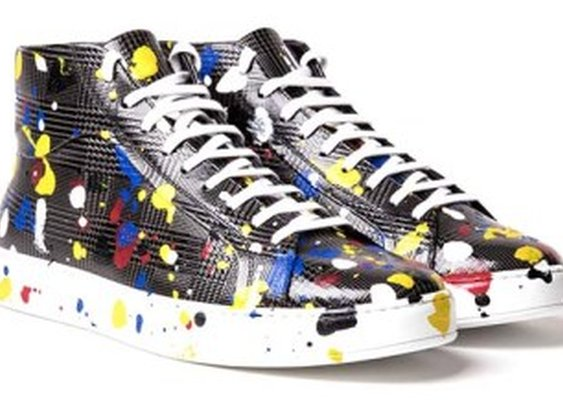 See How Dior Makes Its Hand-Painted Men's Sneakers for Spring