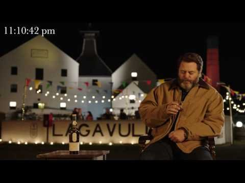 Nick Offerman's 'New Years Eve' - Drinking Scotch for an Hour