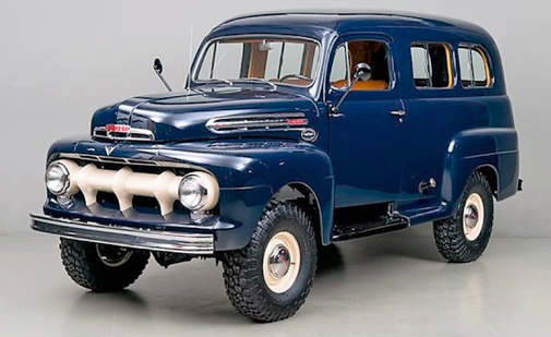 1951 Ford F1 Ranger Marmon-Herrington Is Straight up Truck Porn