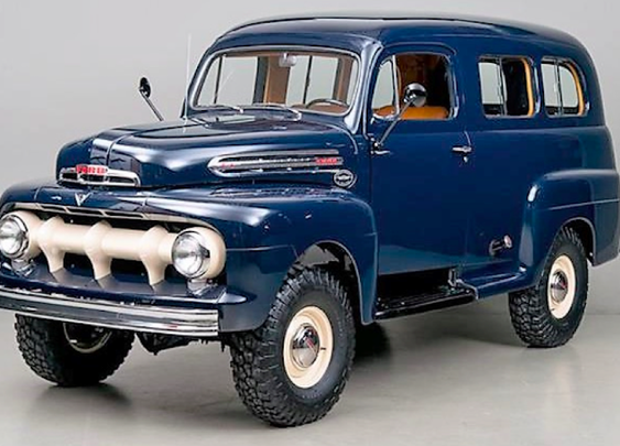 1951 Ford F1 Ranger Marmon-Herrington Is Straight up Truck Porn