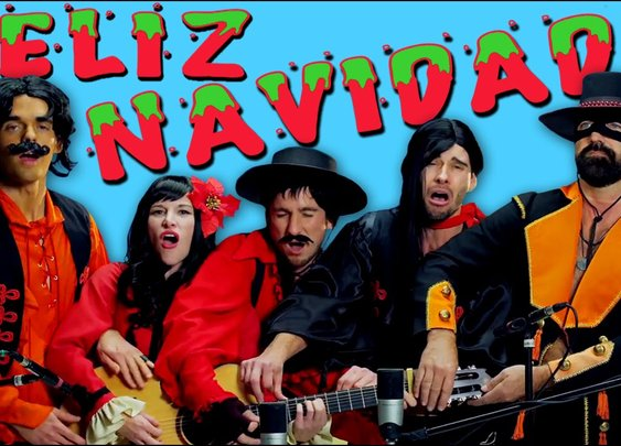 Feliz Navidad - Five People - One Guitar