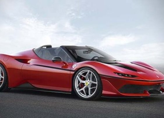 Ferrari Unveils Its Japan-exclusive J50