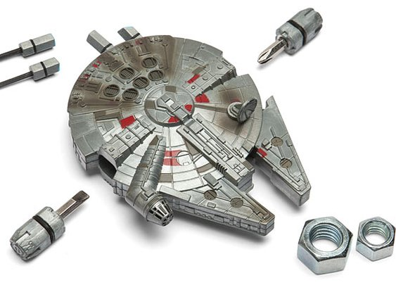 A Star Wars Millennium Falcon Multi-Tool Kit