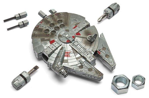 A Star Wars Millennium Falcon Multi-Tool Kit