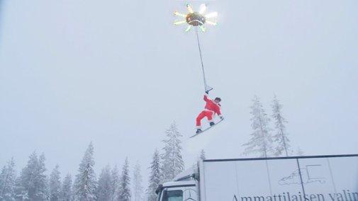 HUMAN FLYING DRONE - YouTube