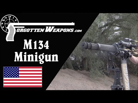 M134 Minigun: The Modern Gatling Gun - YouTube