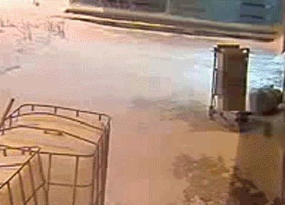 Russian Driver Evading Cops Through An Airport Terminal Is Some Jason Bourne Shit