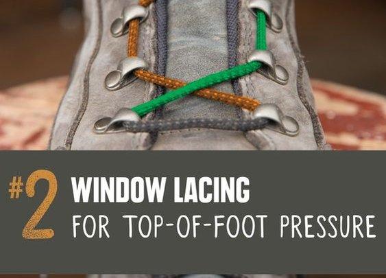 Boot Lacing Tips