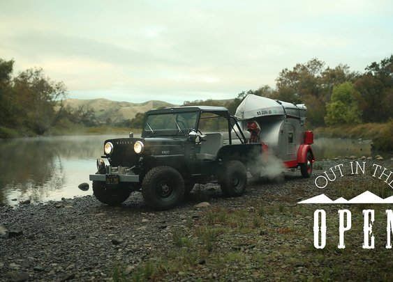 This Willys Jeep Has Always Been Out In The Open | YouTube