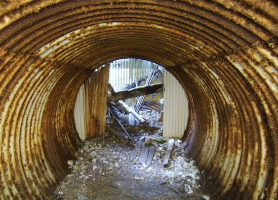There Are Hundreds of Secret Underground WWII Bases Hidden in British Forests   Atlas Obscura