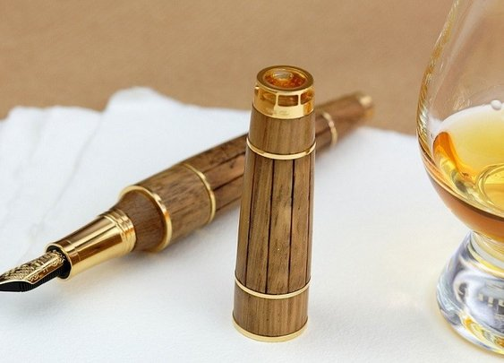 Cognac Fountain Pen – Men's Gear