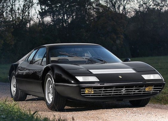 This rare 1974 Ferrari 'Boxer' is up for auction (~$400K).