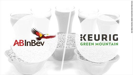 Keurig and AB InBev team up on in-home booze maker - Jan. 6, 2017