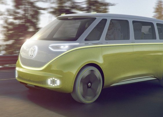 Volkswagen goes back to the future with I.D. Buzz self-driving electric van | Fox News