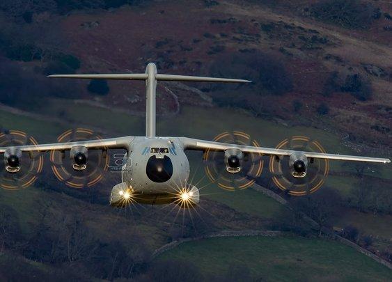 A400M Atlas in The Mach Loop