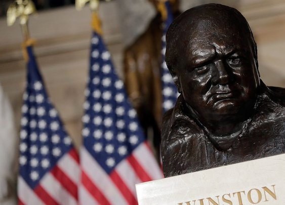 Trump personally asked for Winston Churchill's bust to be returned to Oval Office – TheBlaze
