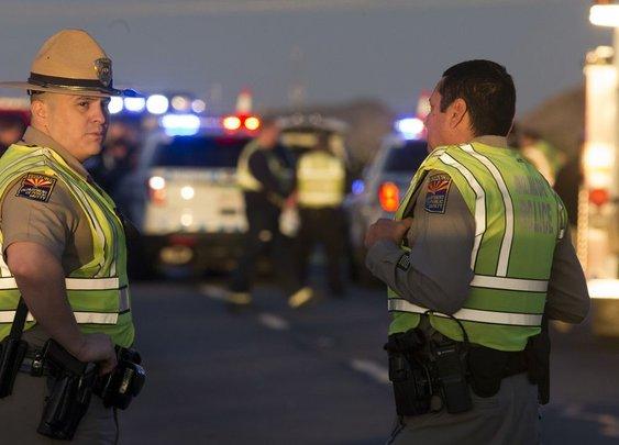 Good Samaritan with gun helps trooper under attack