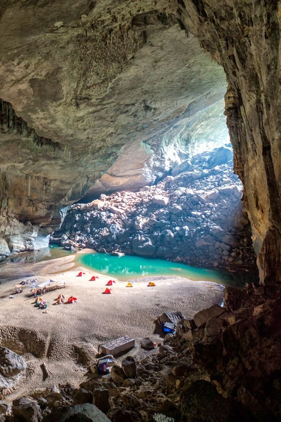 Camping Inside the World's 3rd-Largest Cave
