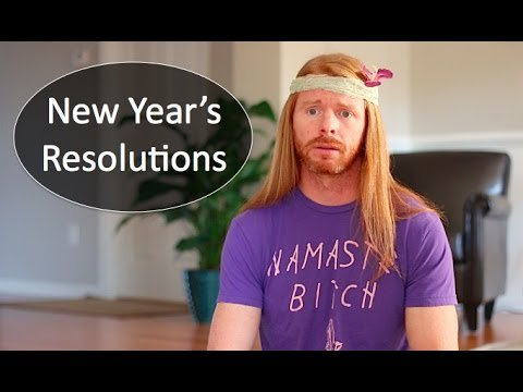 New Year's Resolutions (If People Were Honest) - Ultra Spiritual Life episode 47 - YouTube