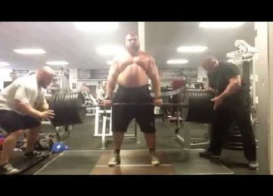 Eddie Hall worlds most impressive deadlifting pyramid set - YouTube