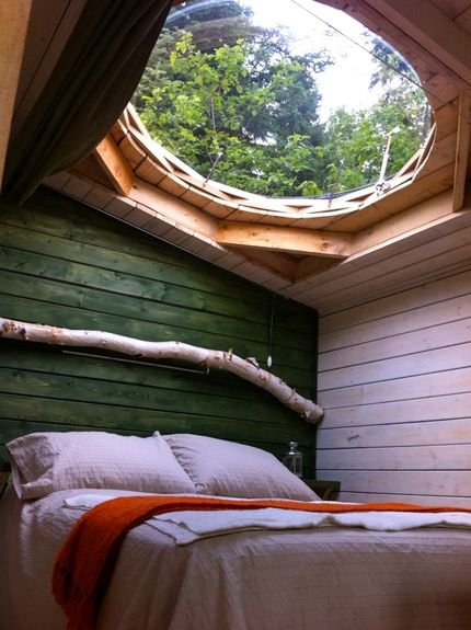 Beautiful Cabin Skylight