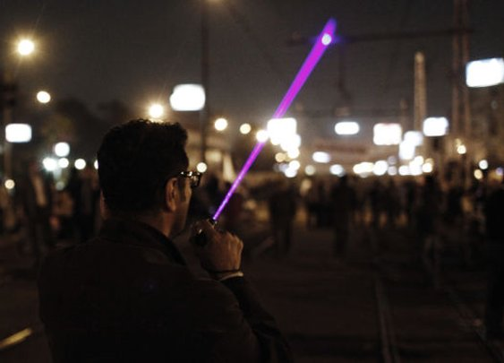 Man gets three years in prison for laser strike on police helicopter